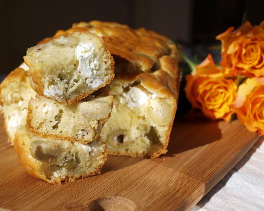 Cake Sal Ef Bf Bd Feta Olives Vertes