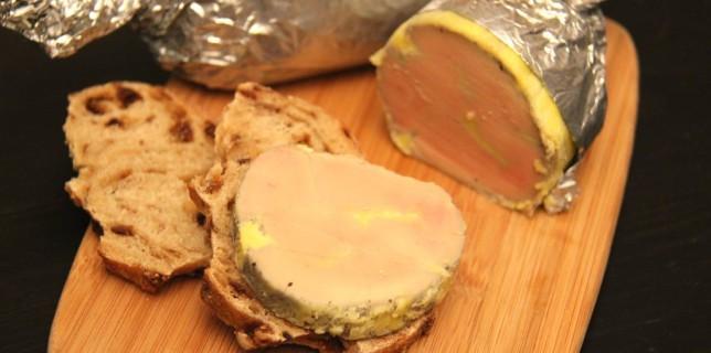 Foie gras vapeur