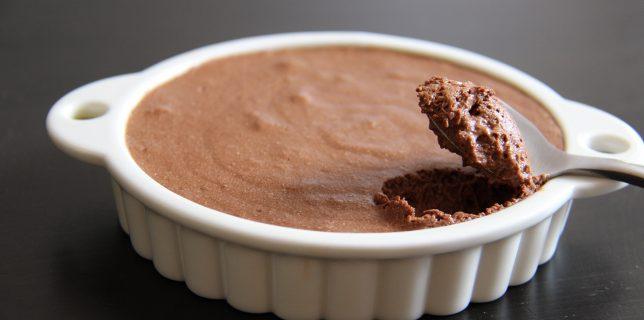 Mousse au chocolat Chapon