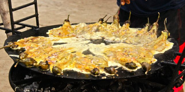Tortang talong, omelette d'aubergine philippine