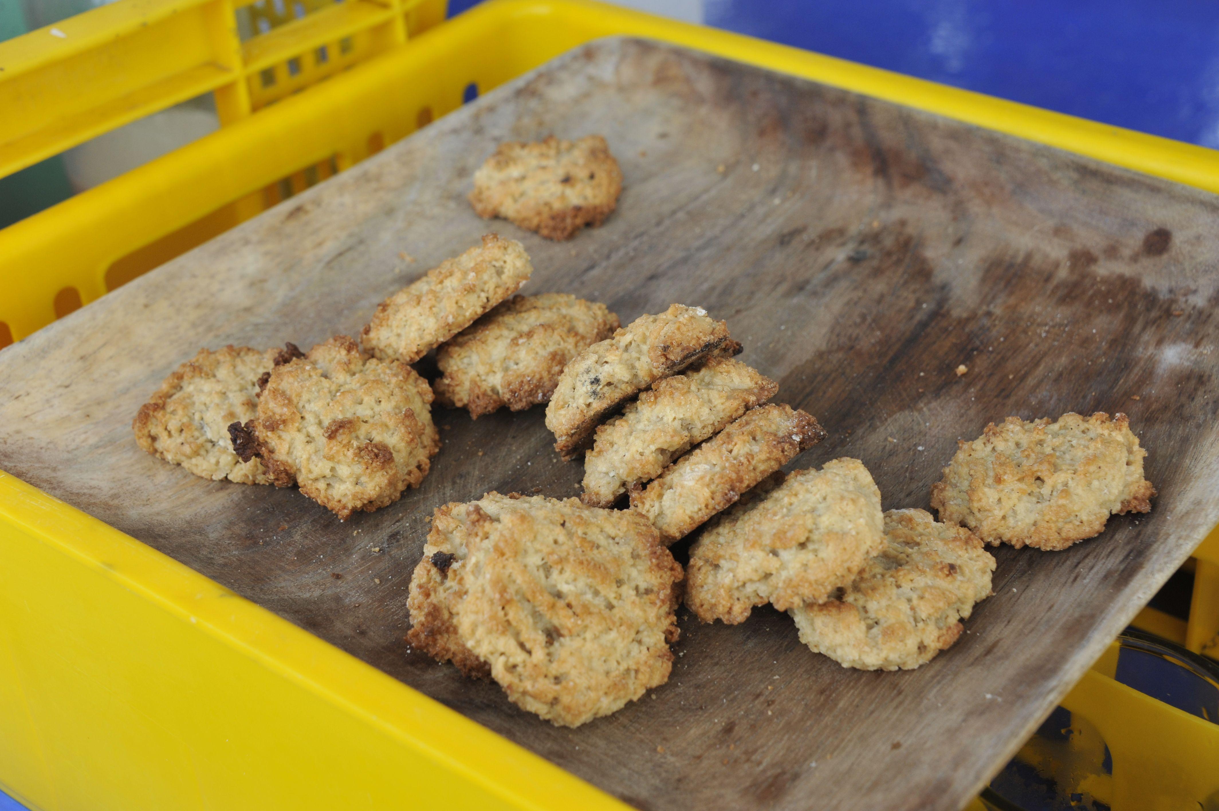 Cookies à la noix de coco et à la graisse de porc - Tao expeditions