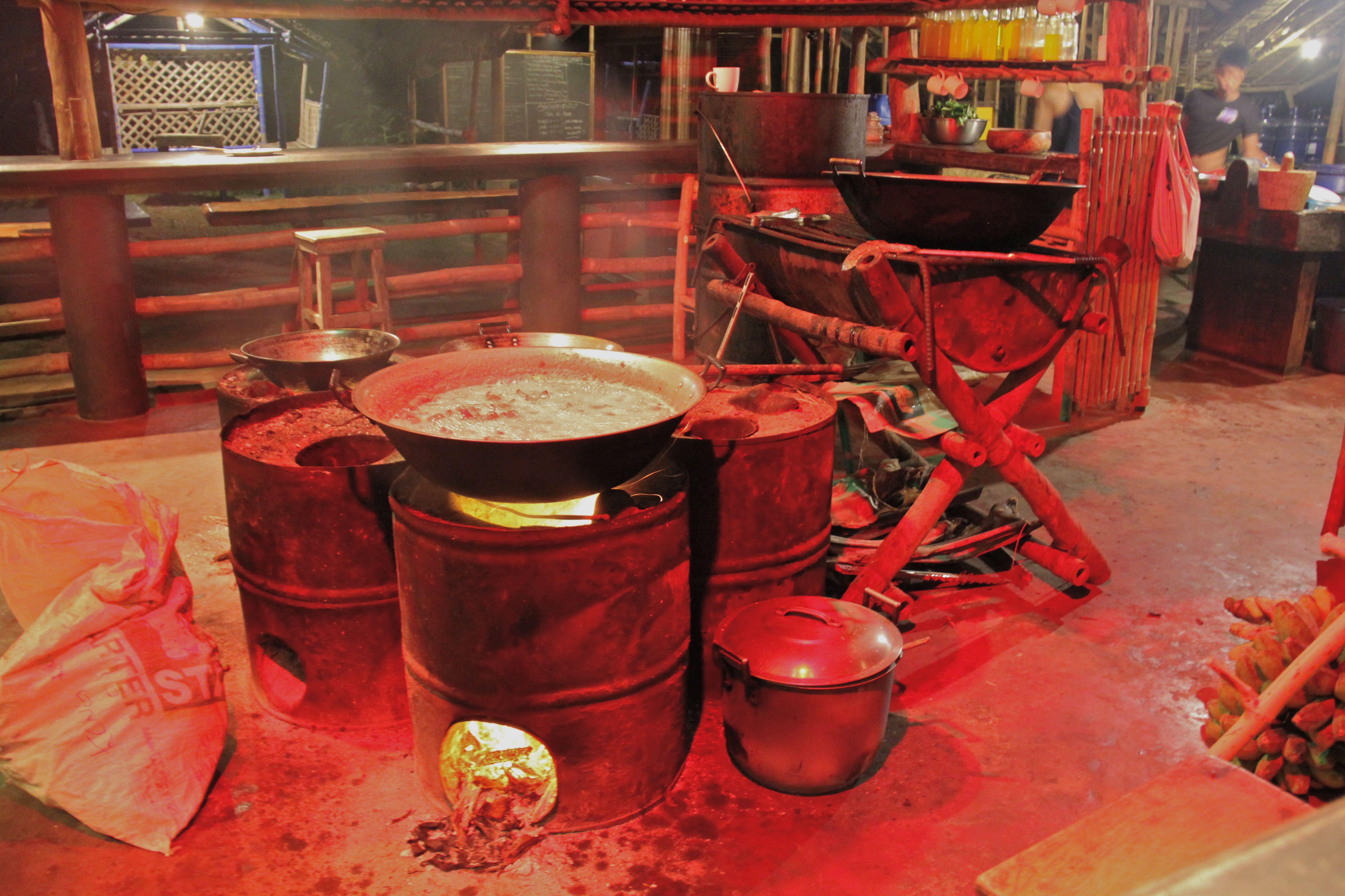 Cuisine de la Kantina - Tao farm Palawan