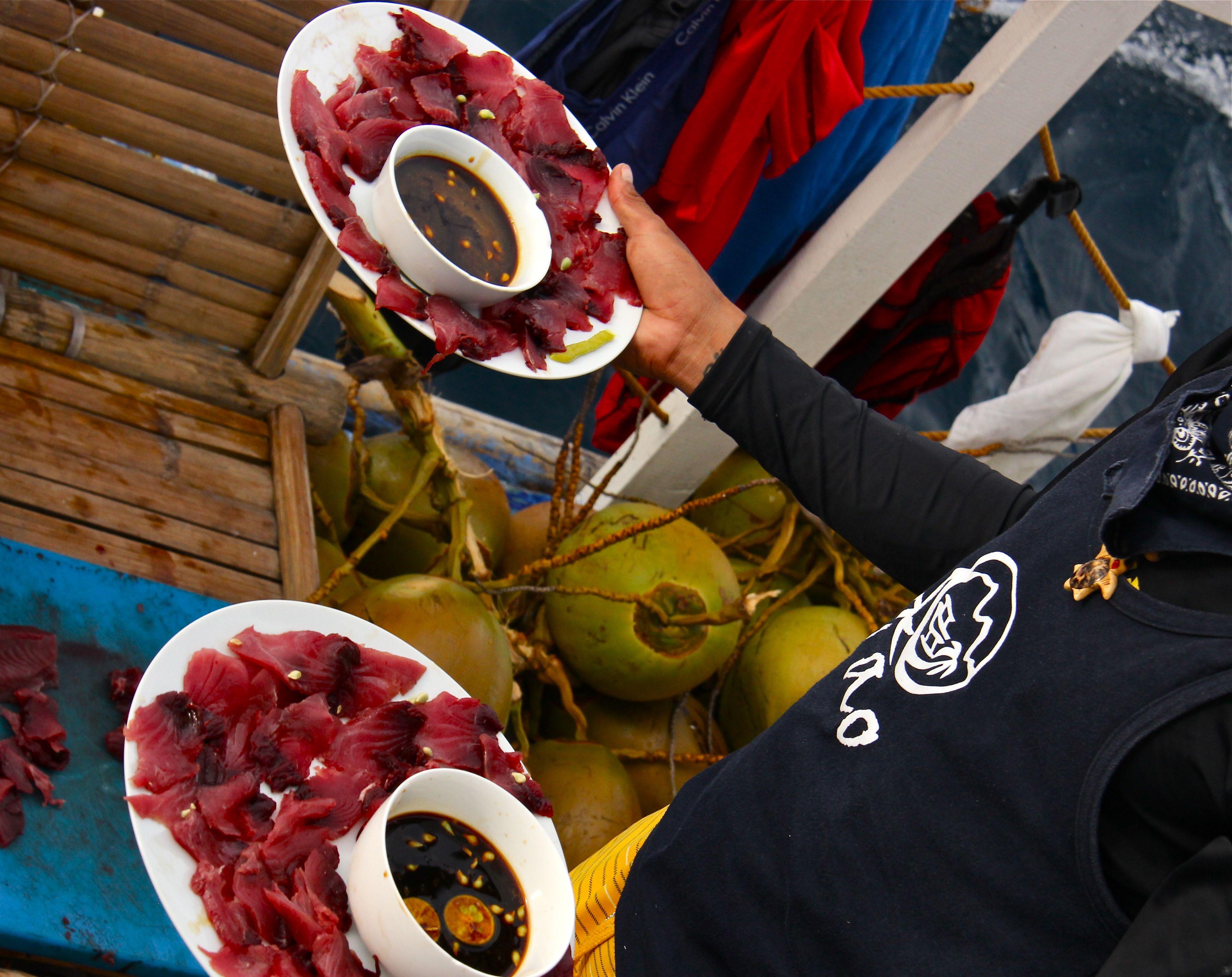Sashimi extra frais - Tao expeditions