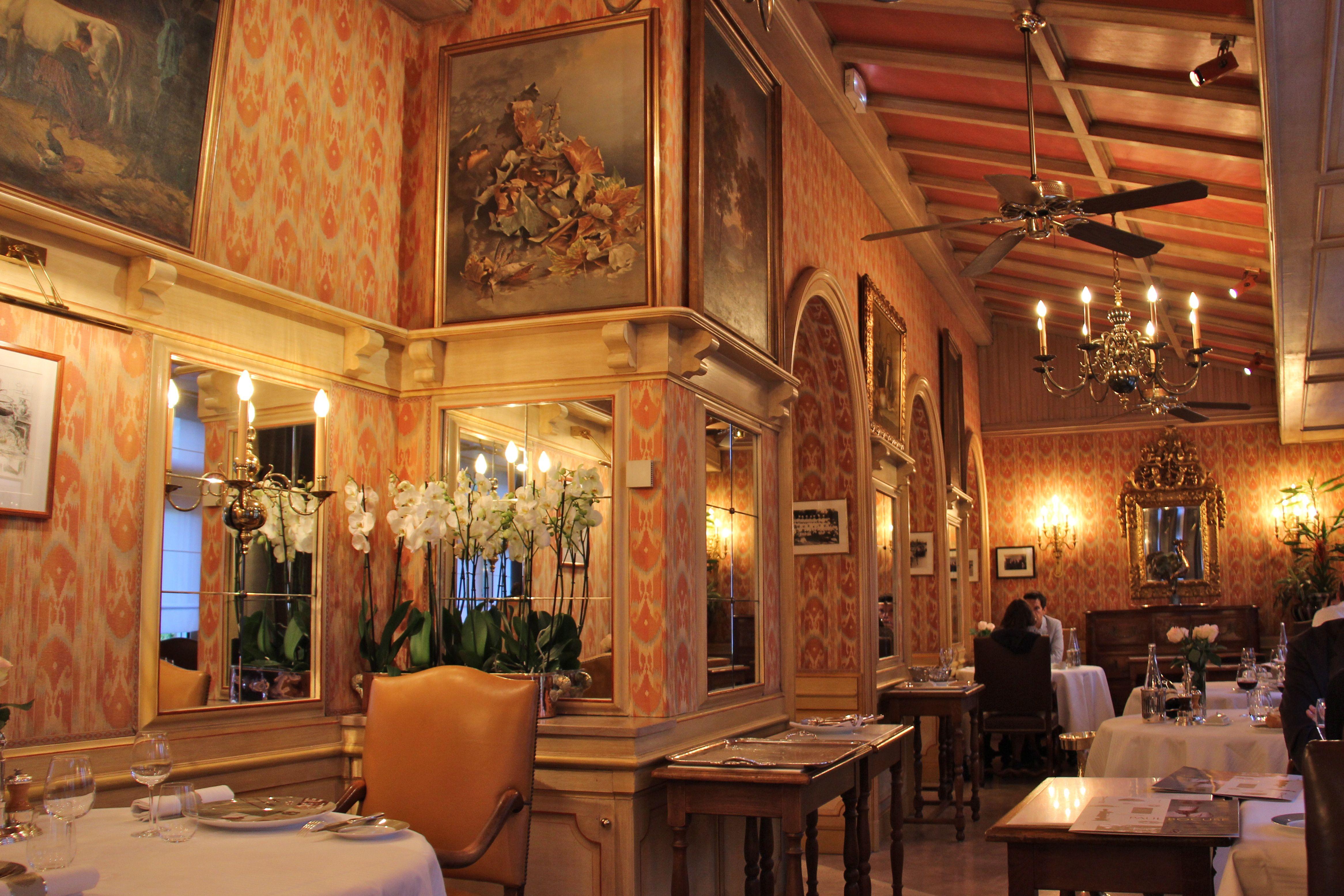 restaurant Paul Bocuse - intérieur