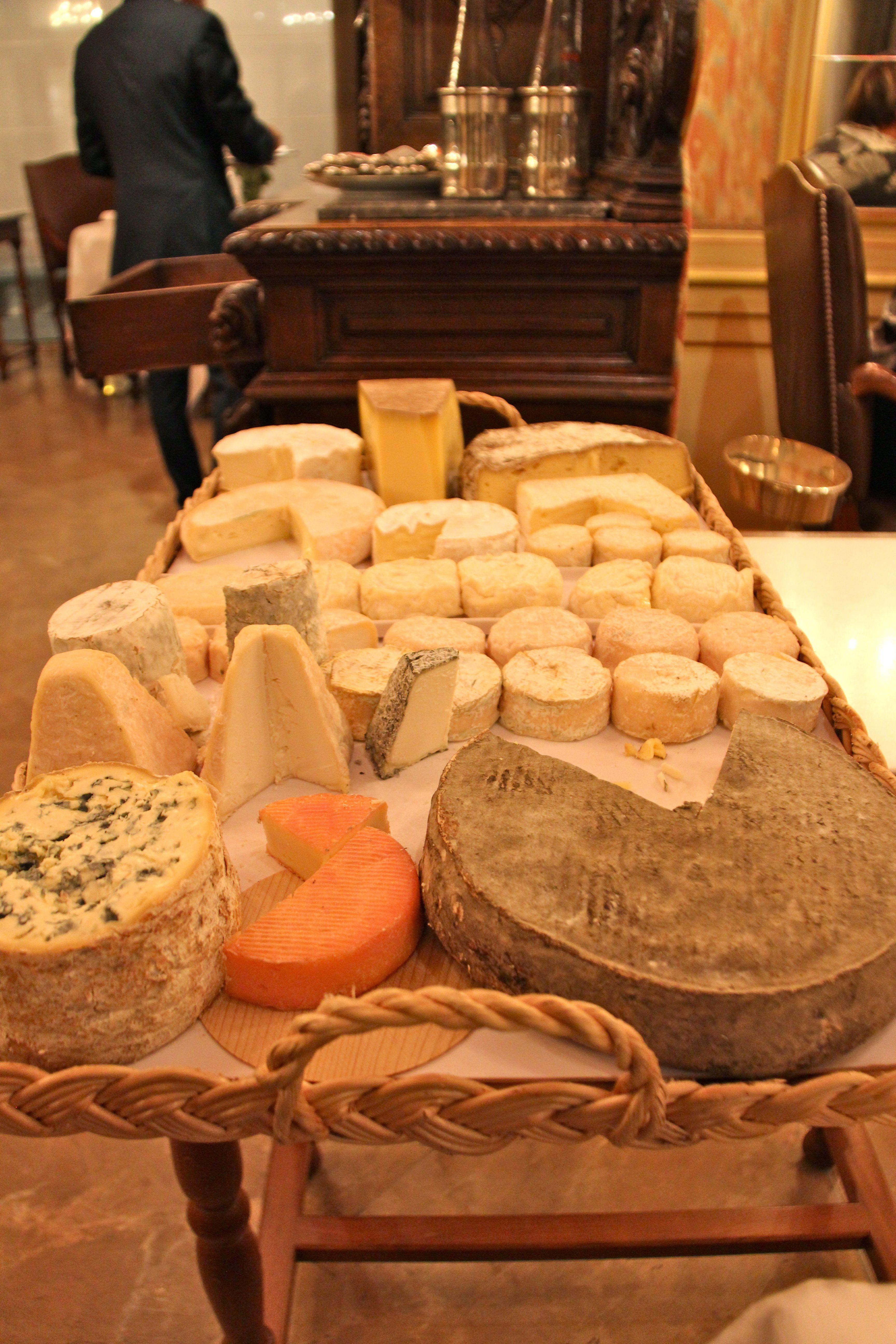la sélection de fromages de la Mère Richard pour Paul Bocuse