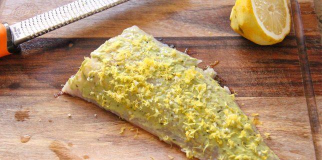 Cabillaud citron et moutarde de Marcela