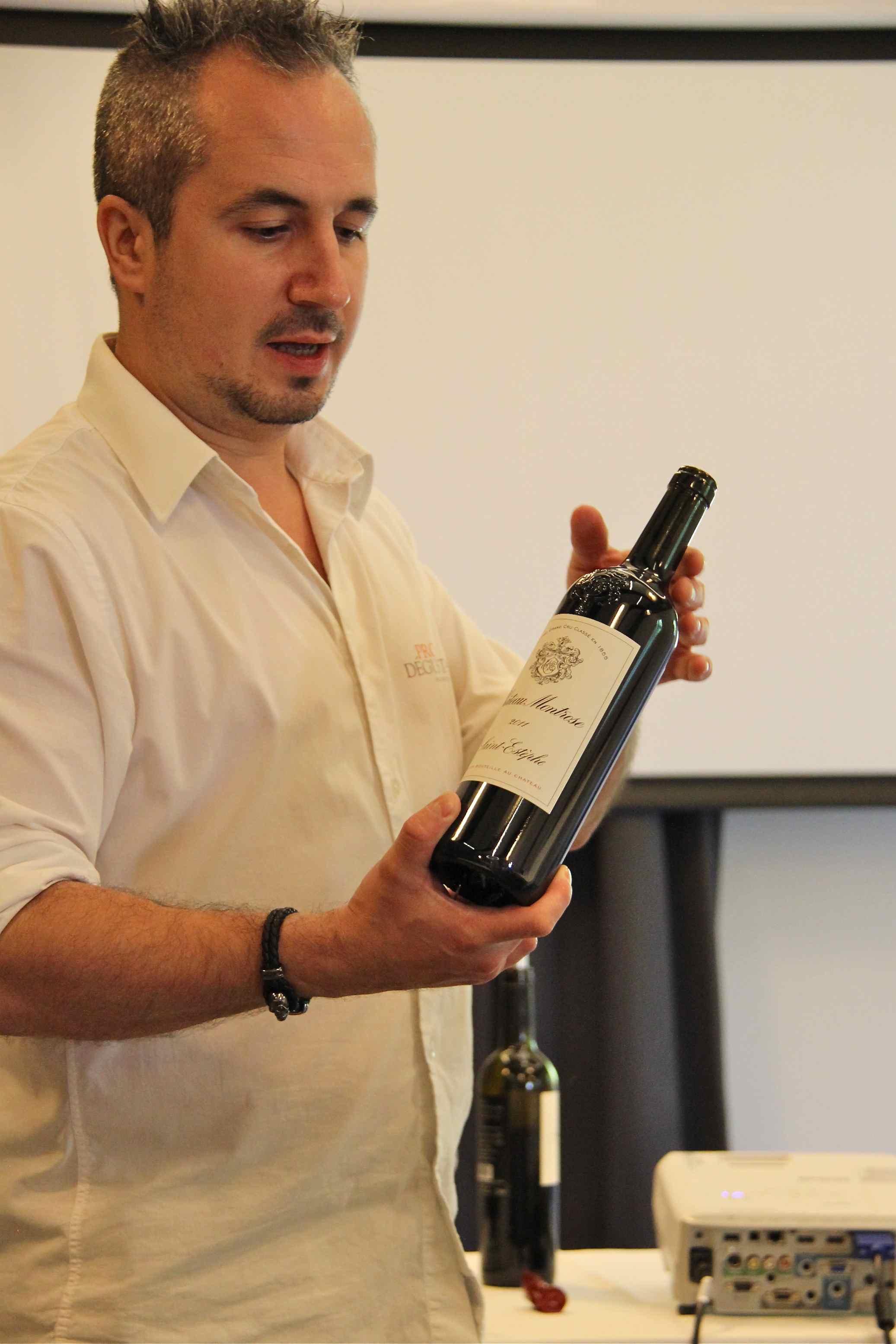 Cyril Del Moro en atelier pour Prodégustation