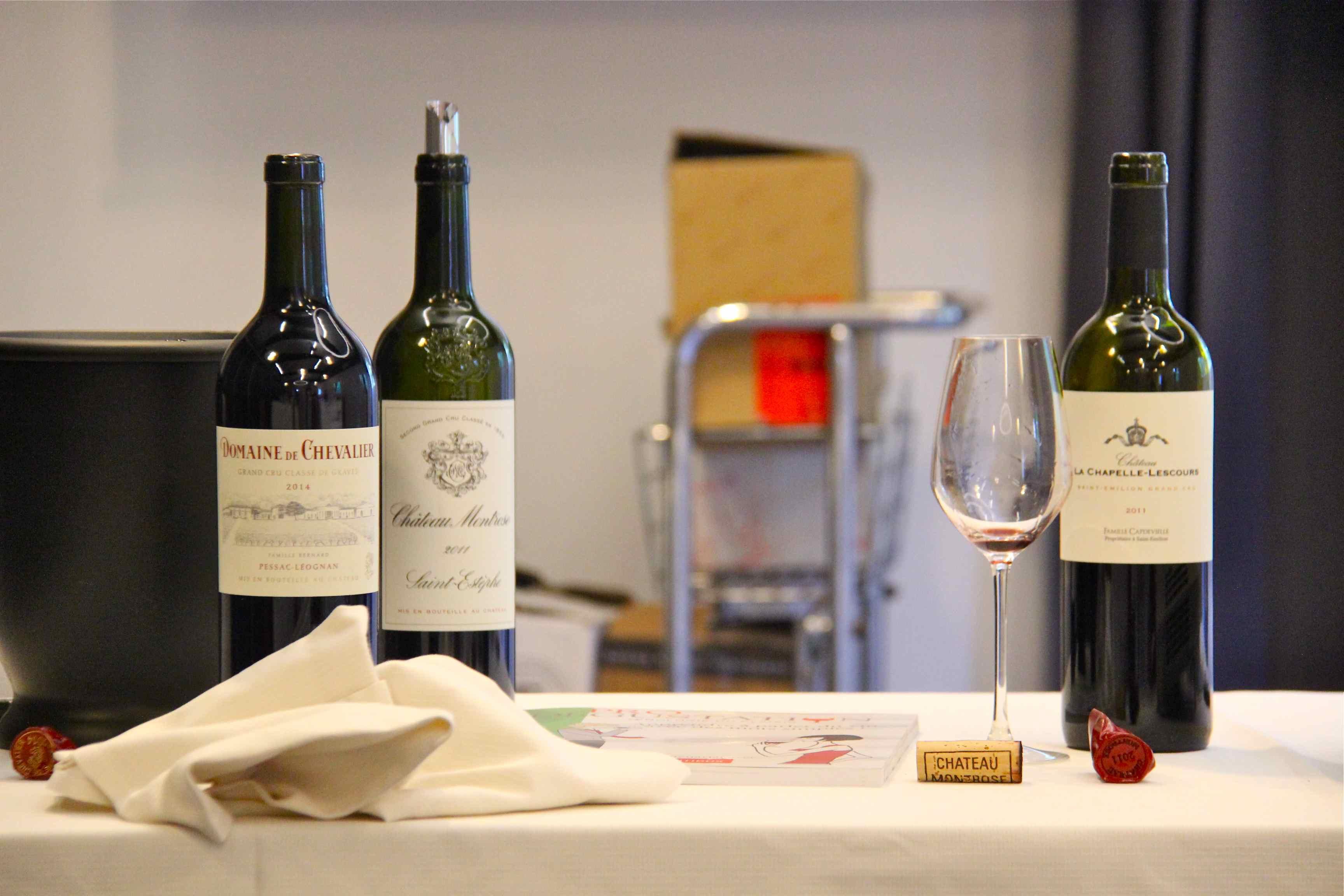Dégustation grands crus de Bordeaux avec Prodégustation