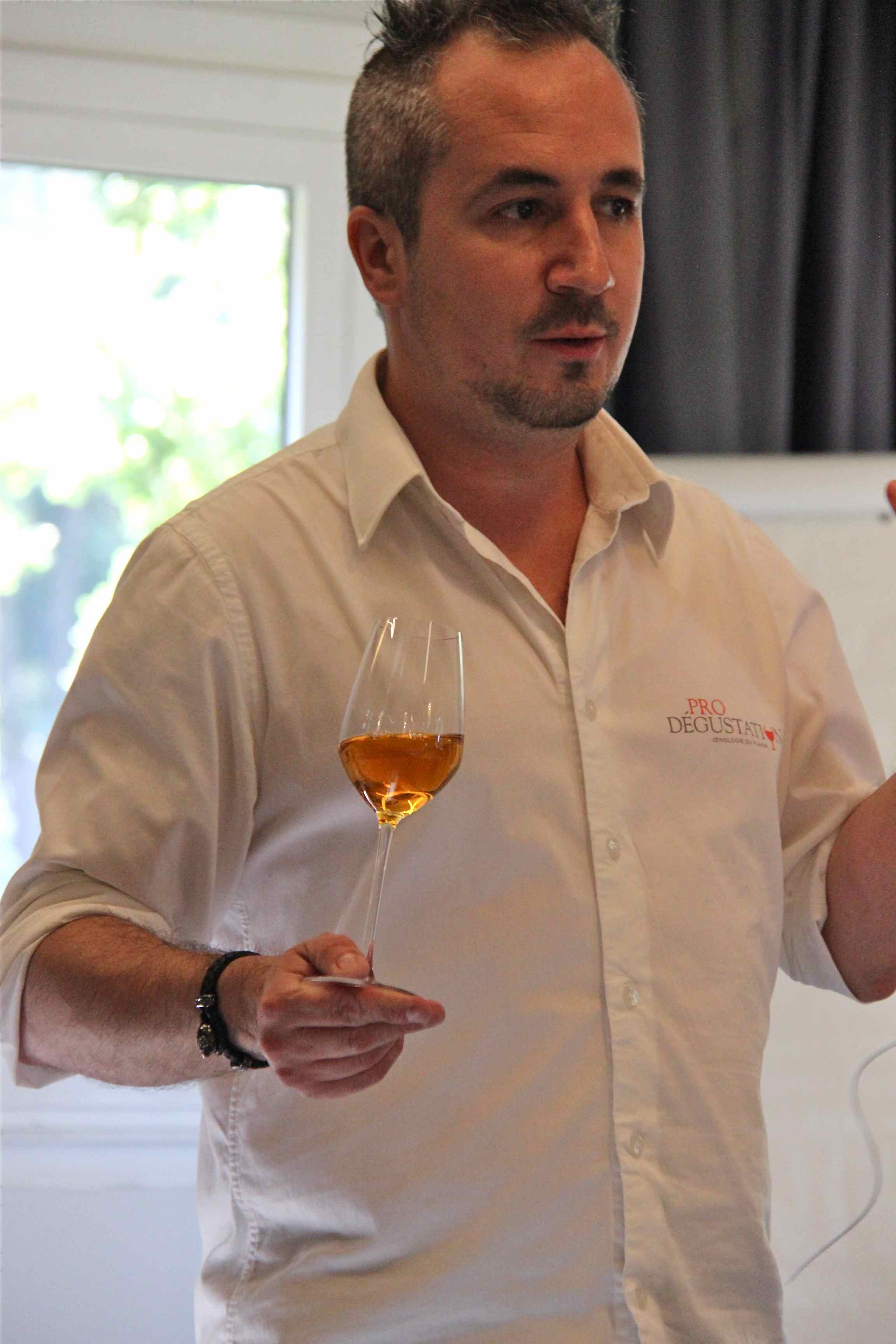 Cyril Del Moro chef sommelier et formateur Prodégustation