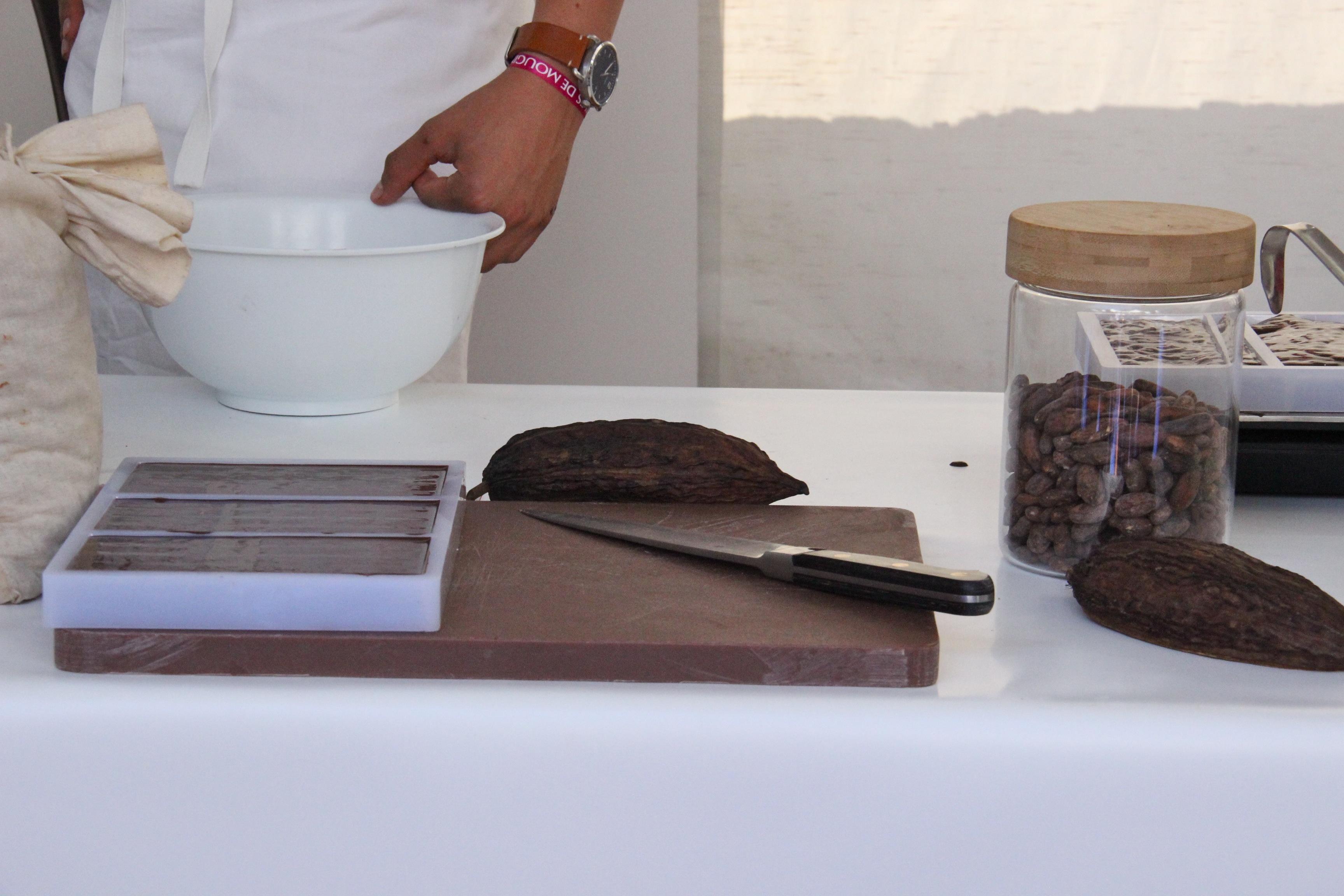 Les ateliers des Etoiles de Mougins autour du chocolat