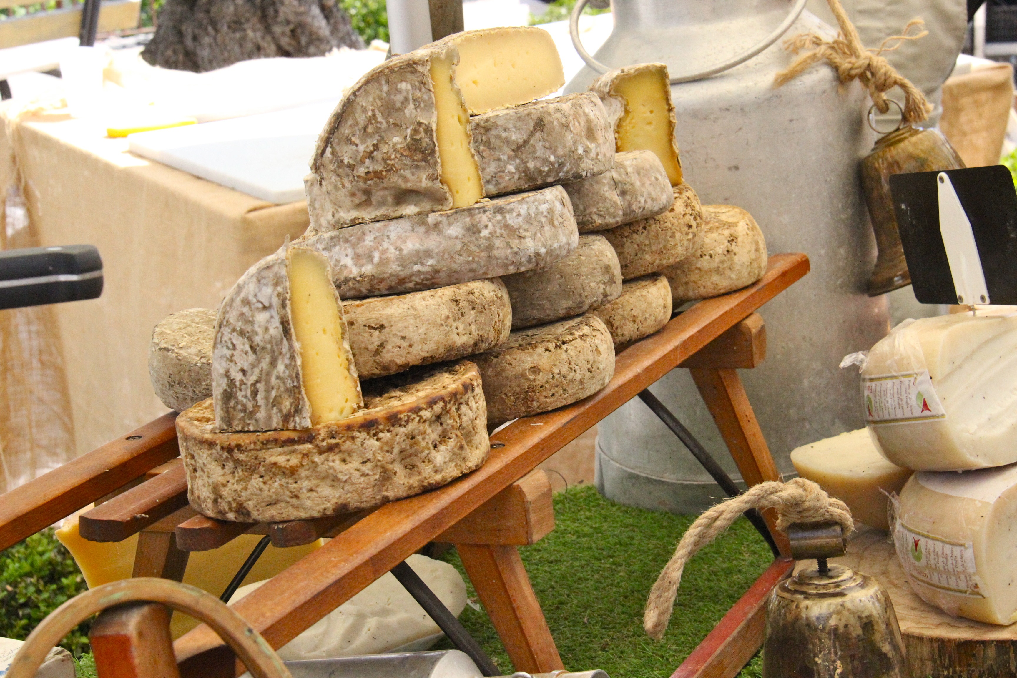 Stand de fromages