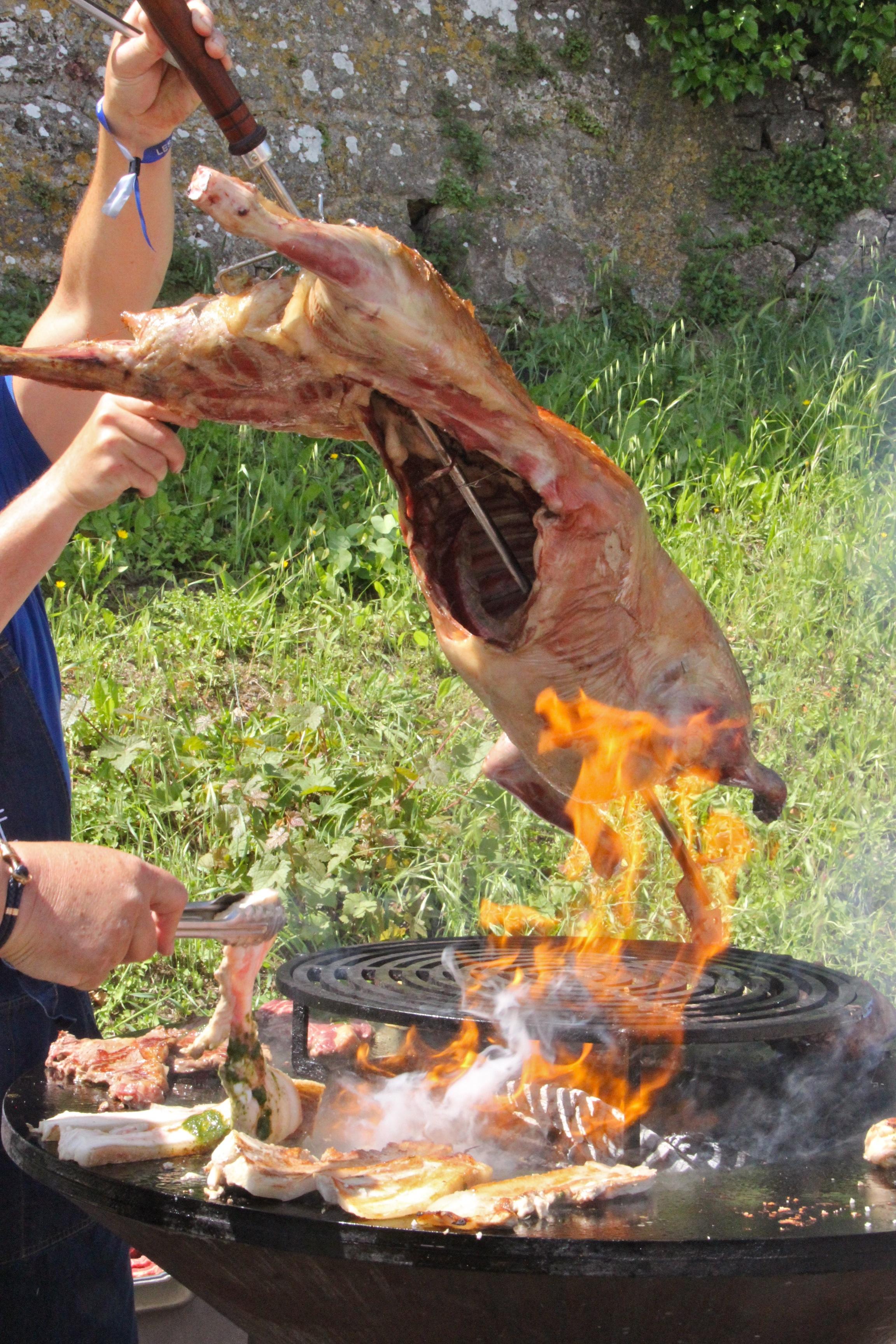 Barbecue brésilienne