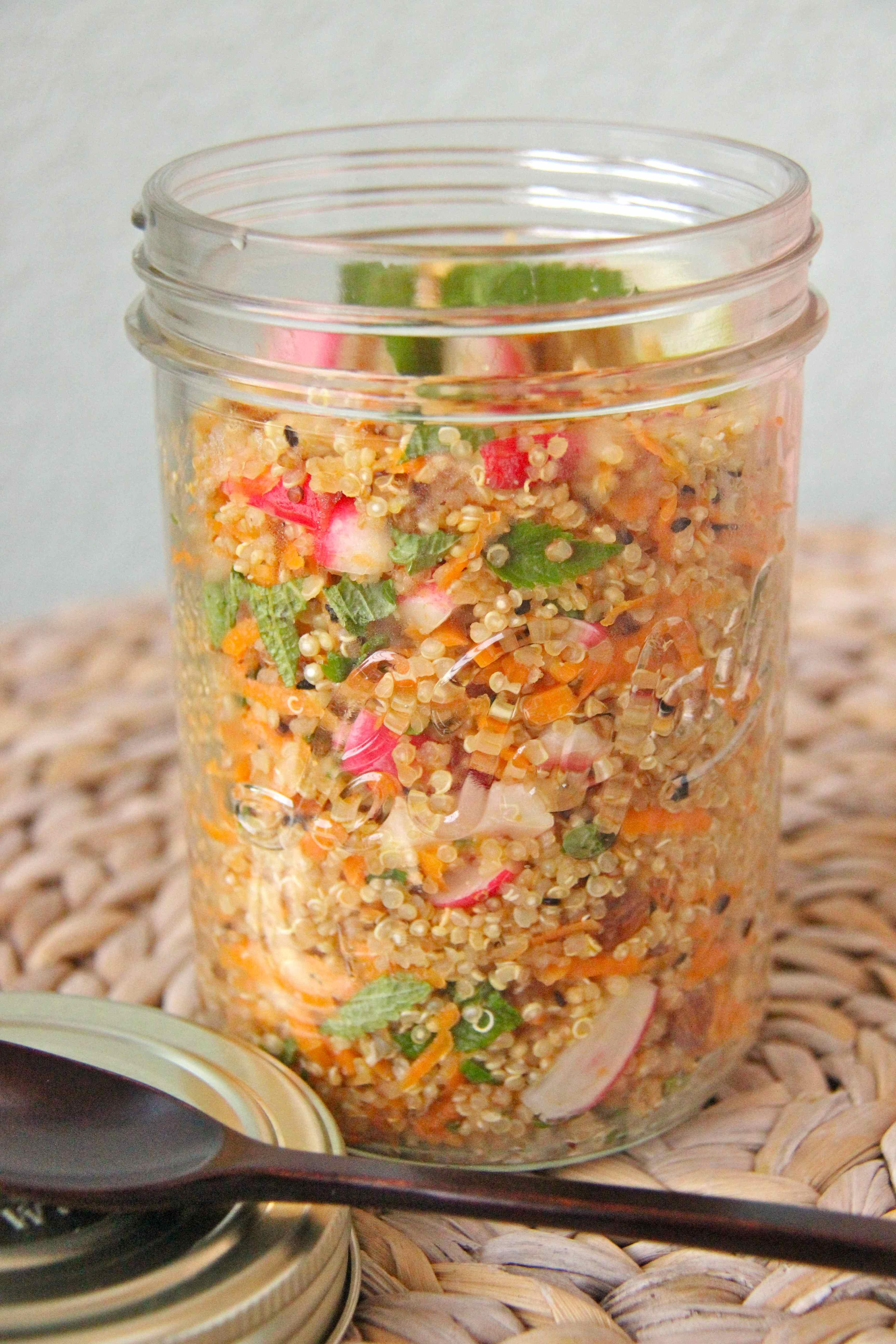 Salade quinoa fraiche