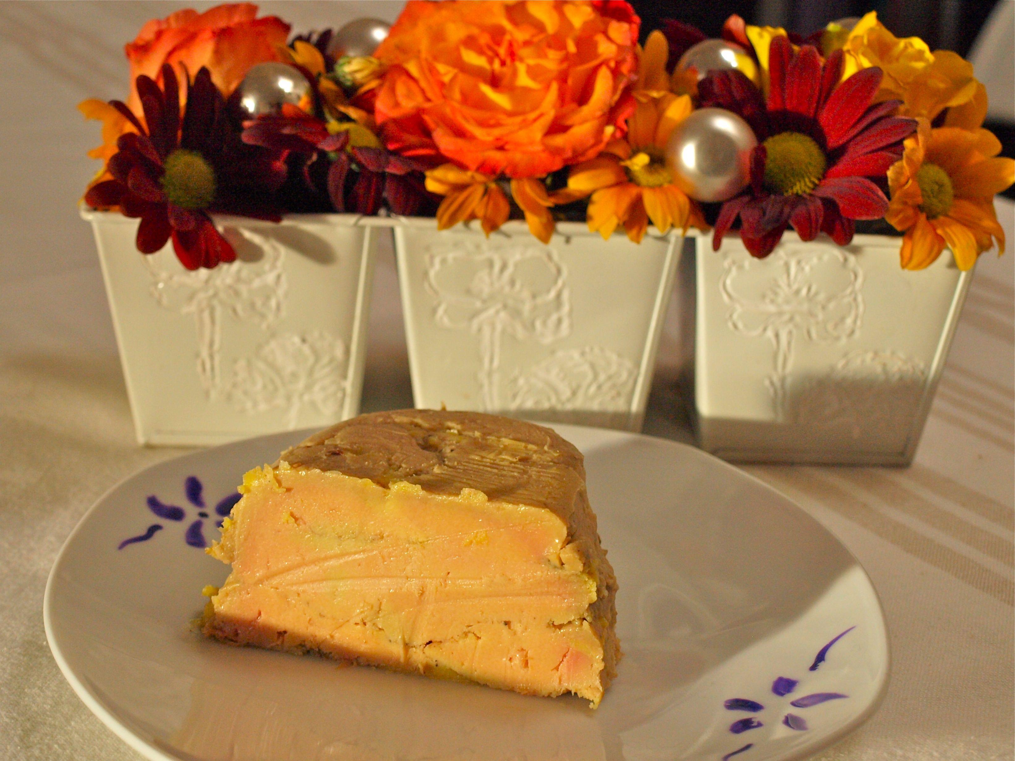 Foie gras aux 5 épices et ratafia champenois