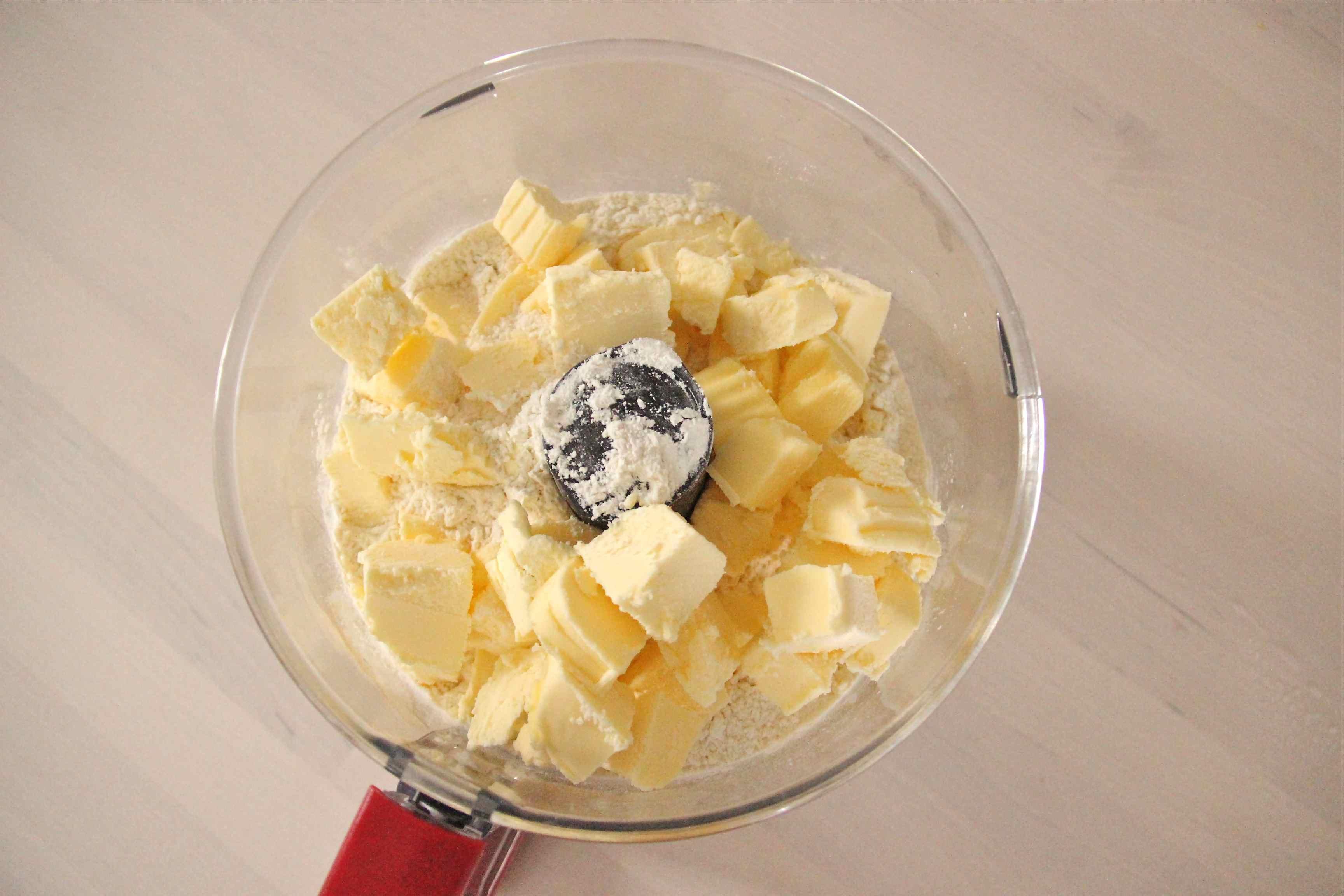 Beurre congelé pour détrempe de pâte feuilletée express
