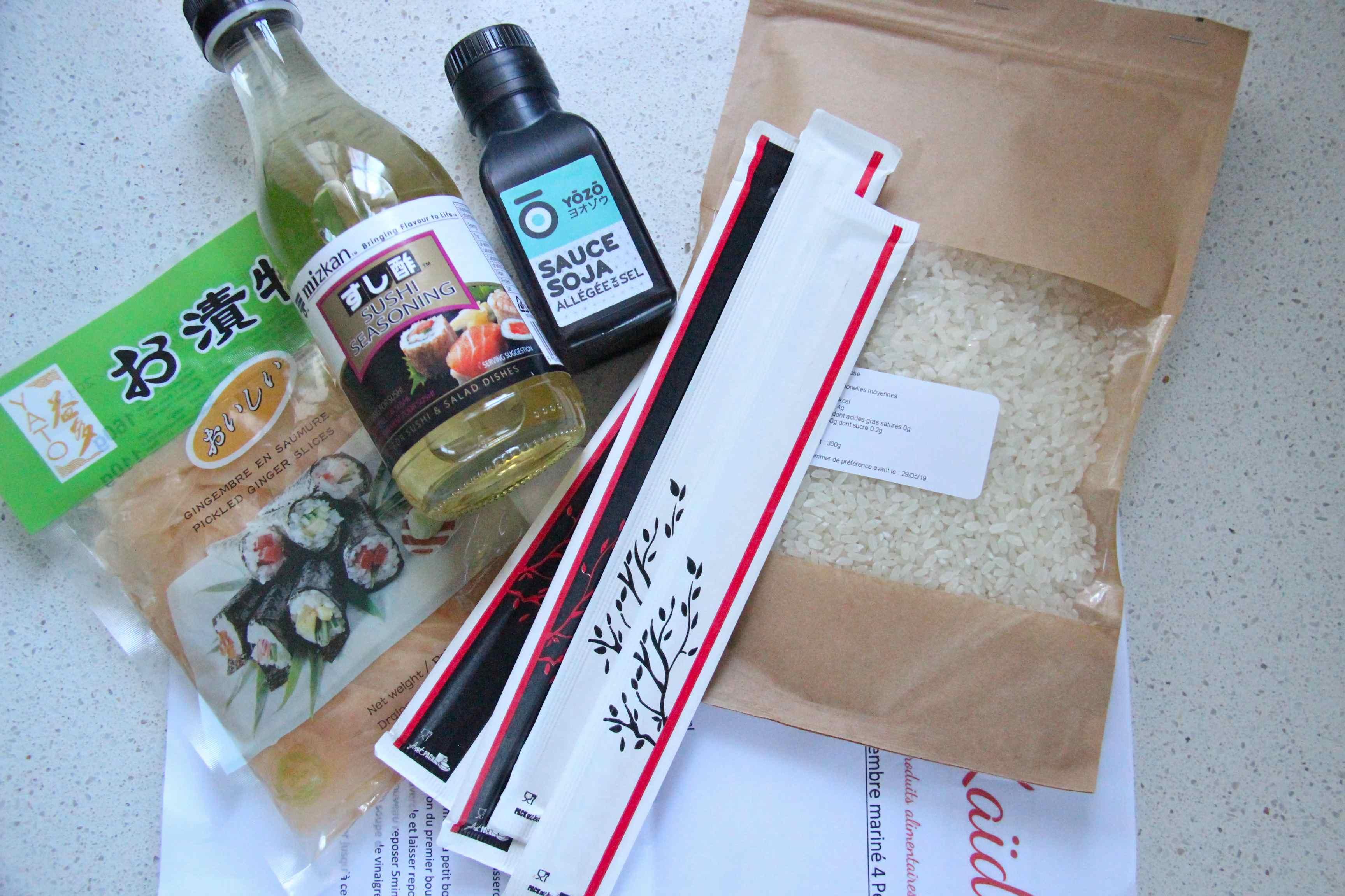 Box sushi kaiduk