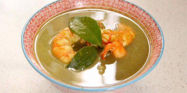 soupe thai aux épices kaiduk