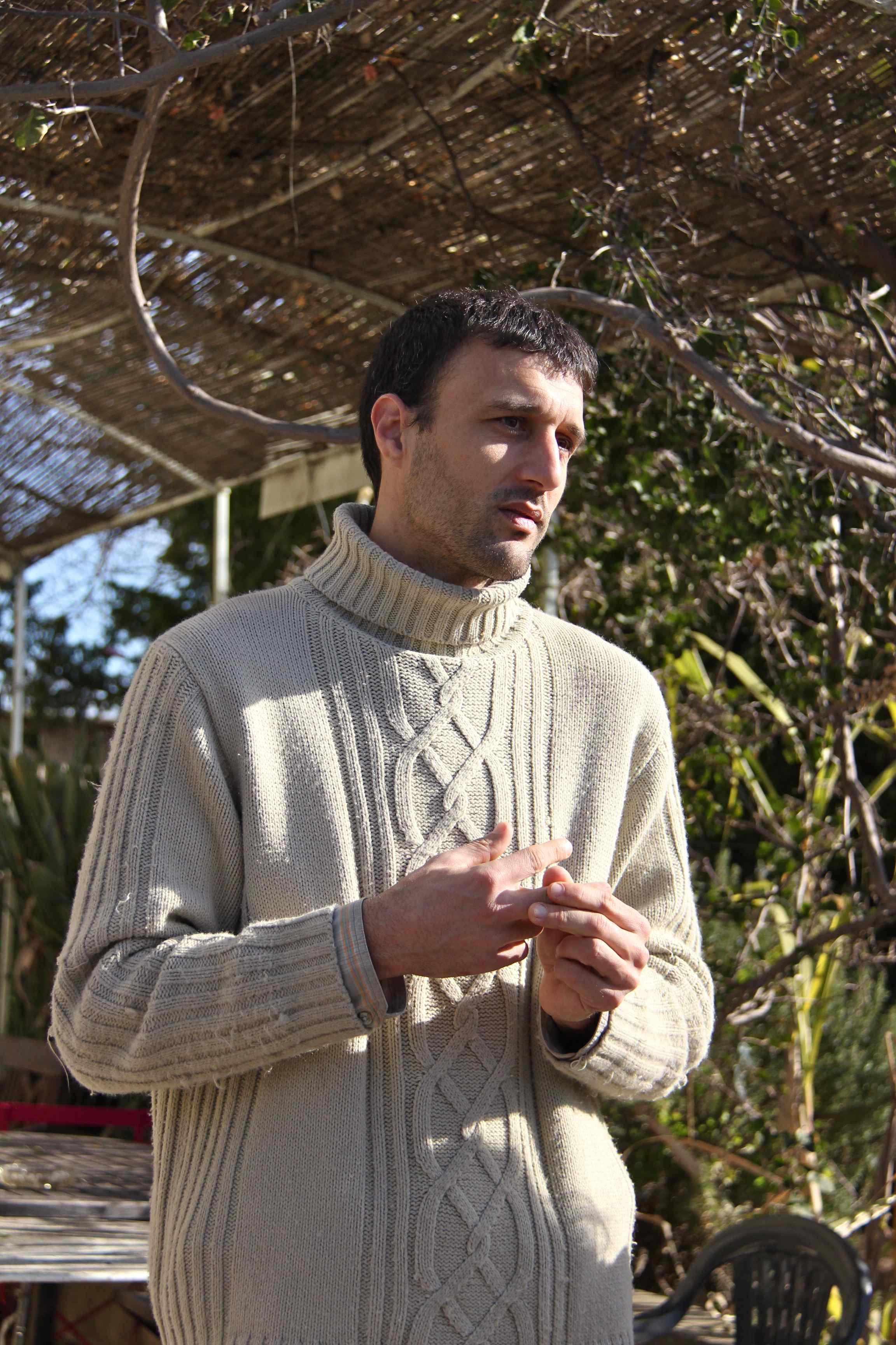 Jean-Noël Falcou, agrumiculteur bio à Golfe Juan