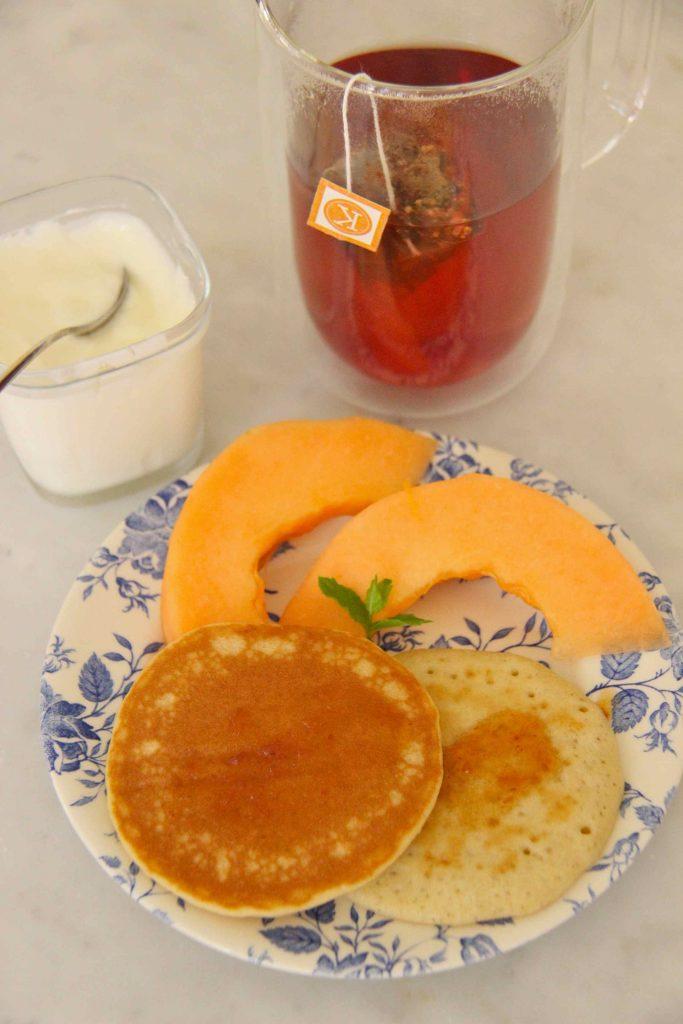 Petit déjeuner Kitchen Diet pancakes moelleux