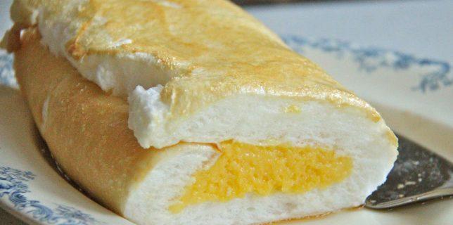 Brazo de Mercedes, dessert roulé philippin
