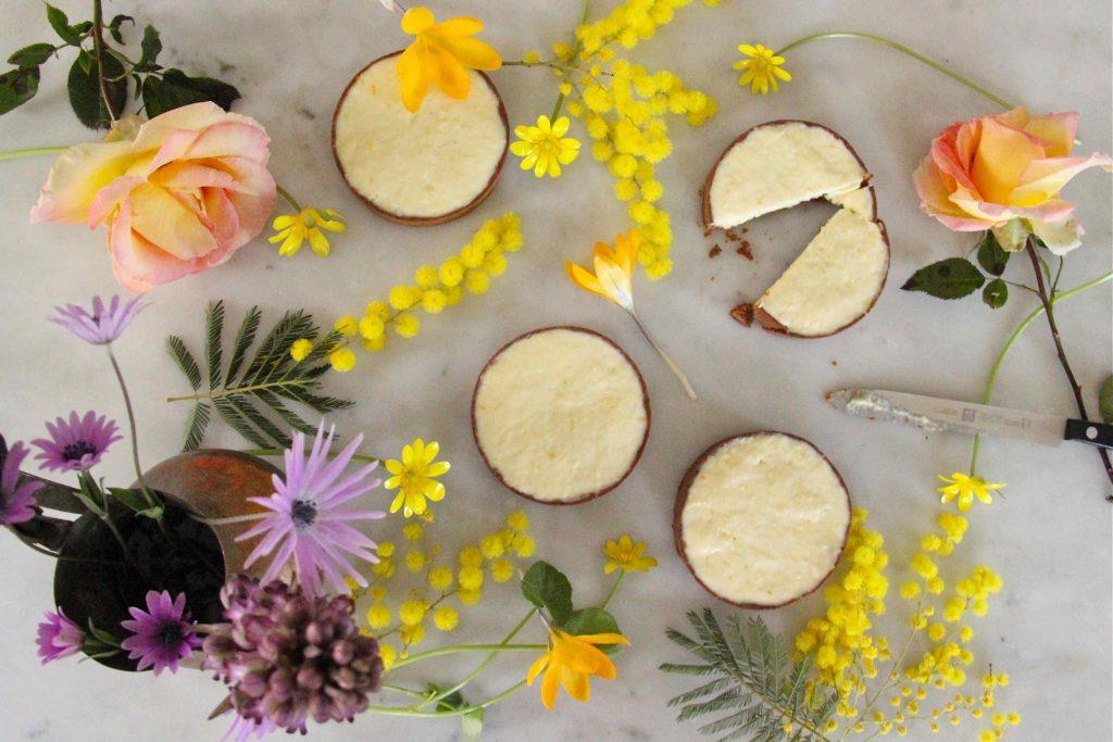 Tartelettes au citron crémeuses et citron confit