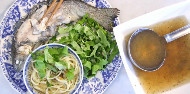 Soupe de poisson au tamarin