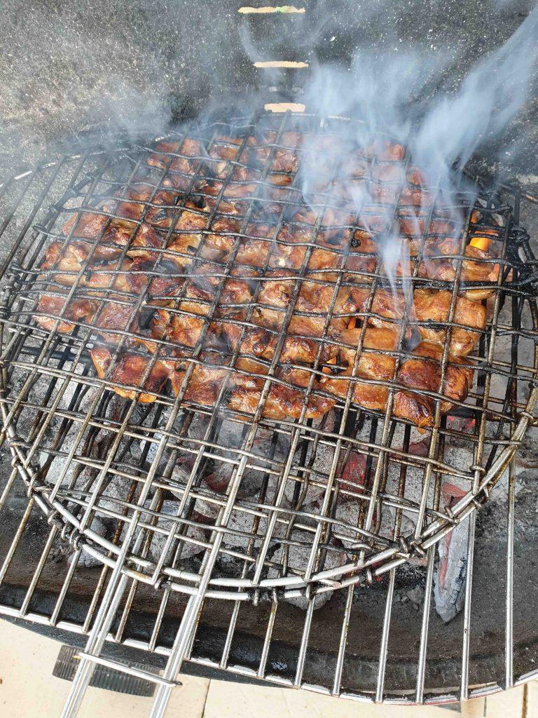 Bun Cha, viande de porc grillée au barbecue, recette vietnamienne