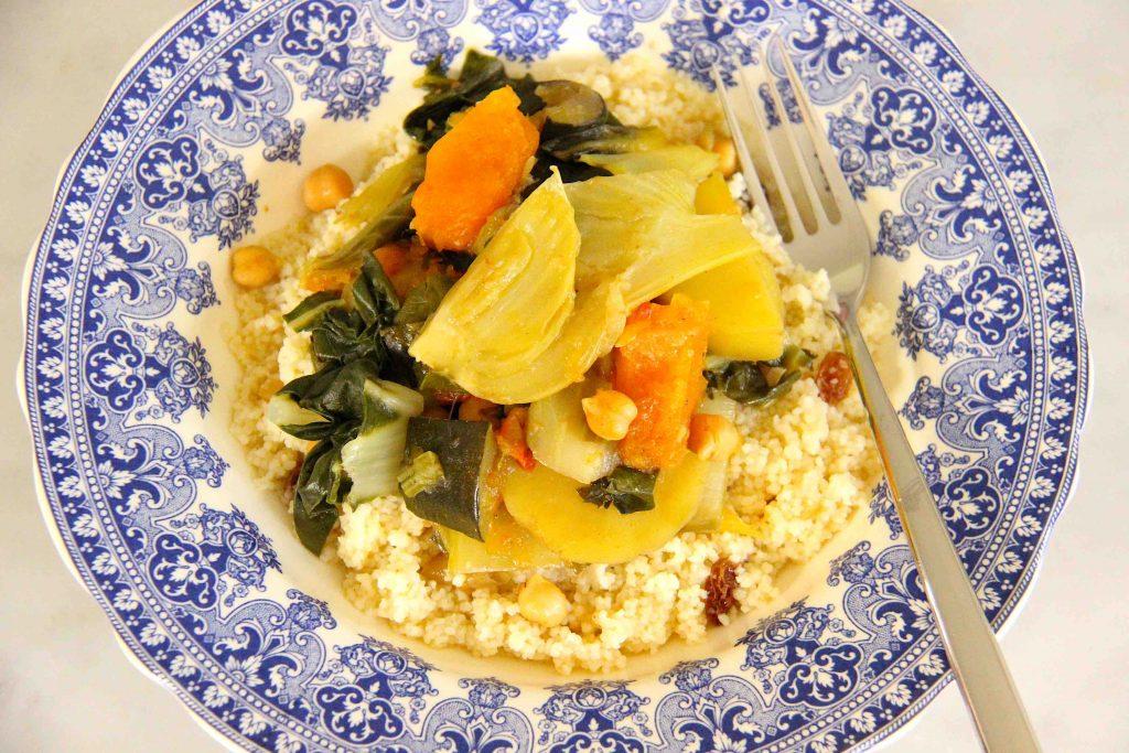 Couscous de légumes végétarien