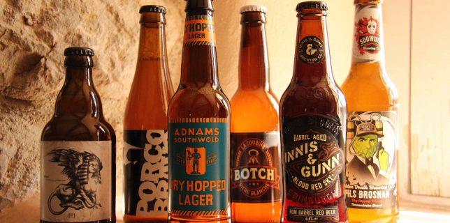 6 bières artisanales
