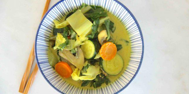 Curry de légumes aux saveurs thaï